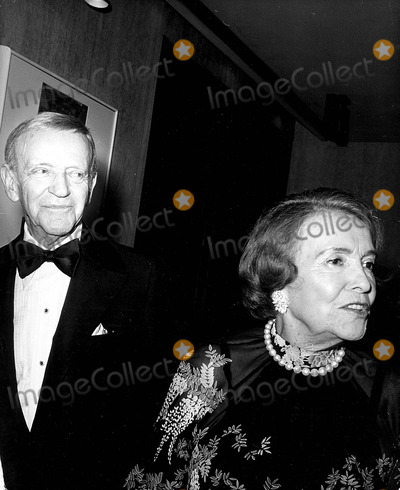 Adele Photo - Fred Astaire with His Sister Adele Astaire A3045 1988 Photo by Nate Cutler-Globe Photos Inc