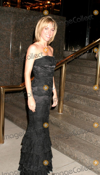 Amy Henry Photo - Guests Leaving the Apprentice After Party at Trump Tower New York City 04152004 Photo by Rick MacklerrangefindersGlobe Photos Inc 2004 Amelia Henry (Amy Henry)