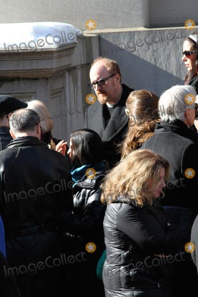 Phillip Seymour Hoffman Photo - Phillip Seymour Hoffman Funeral at St Ignatius Loyola Church in Manhattan Bruce Cotler 2014 Louis Ck