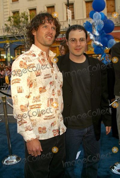 Adam Rifkin Photo - X2 X-men United - Hollywood Premiere Graumans Chinese Theatre Hollywood CA 04282003 Photo by Nina Prommer  Globe Photos Inc 2003 Norby Greenberry and Adam Rifkin