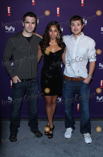 Meaghan Rath Photo - Sam Witwer Meaghan Rath Sam Huntington Actors Syfy  E Comic-con 2011 Party at Hotel Solamar in San Diego CA 07-23-2011 Photo by Graham Whitby Boot-allstar - Globe Photos Inc