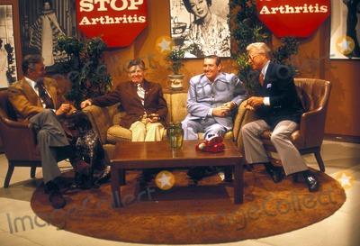 Arthur Godfrey Photo - 1977 Rick Jason Arthur Godfrey Pat Buttram Allen Ludden Photo by Bob Noble-Globe Photos