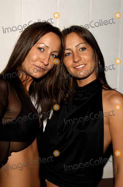 Teena Collins Photo -  Know Music Inc Pre Grammy Party Club Ad Hollywood CA 02262002 Nikey Collins and Teena Collins Photo by Amy GravesGlobe Photosinc2002 (D)