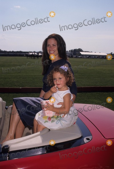 Jill Stuart Photo - Jill Stuart with Daughter Sophie at the 4th Anniversary Bridgehampton Polo Opening Day Mercedes Benz Polo 1998 K12873ww Photo by Walter Weissman-Globe Photos Inc