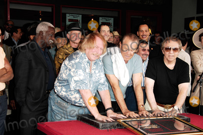 Hal Blaine Photo - The Wrecking Crew to Be Inducted Into Hollywoods Rockwalk in West Hollywood California on June 25 2008 the Wrecking Crew Hal Blaine Glen Campbell Don Randi Photo by Lemonde Goodloe-Globe Photos