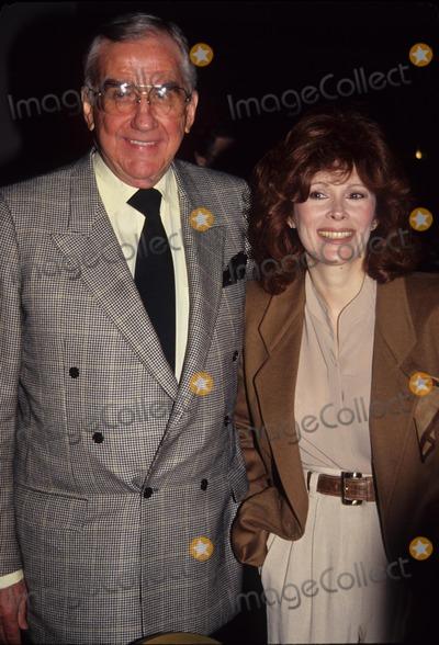 Ed Mcmahon Photo - Jill St John with Ed Mcmahon at Natpe in New Orleans 1991 L01005 Photo by John Barrett-Globe Photos Inc