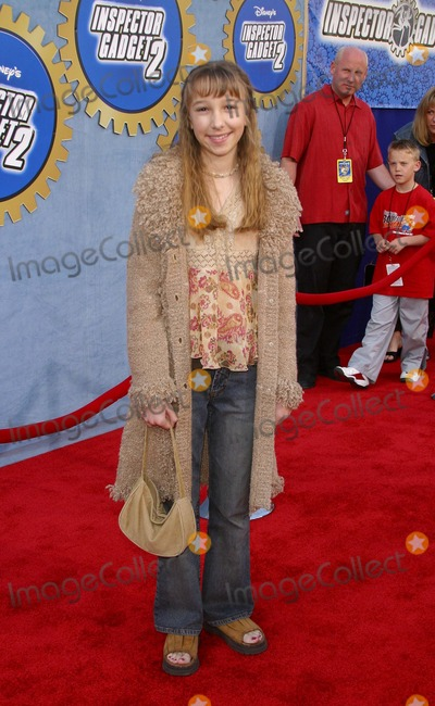 Ashley Edner Photo - Inspector Gadget 2-premiere El Capitan Theater Hollywood CA 03082003 Photo by Milan RybaGlobe Photos Inc 2003 Ashley Edner