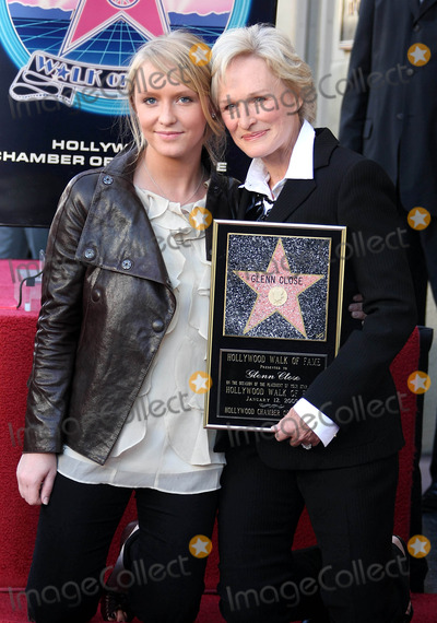 Annie Starke Photo - Glenn Close Annie Starke Actress  Daughter Glenn Close Honored with a Star on the Hollywood Walk of Fame Hollywood CA 01-12-2009 K60646 Photo by Graham Whitby Boot-allstar-Globe Photos
