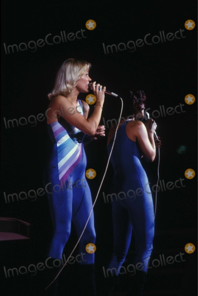 ABBA Photo - Photo Bill Richert Globe Photos Inc 1979 Abba Stagebandreq
