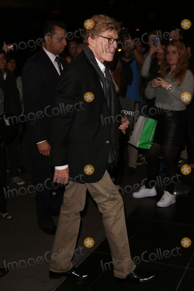 Robert Redford Photo - Robert Redford attends the Truth Screening Outside Arrivals the Museum of Modern Art NYC October 7 2015 Photos by Sonia Moskowitz Globe Photos Inc