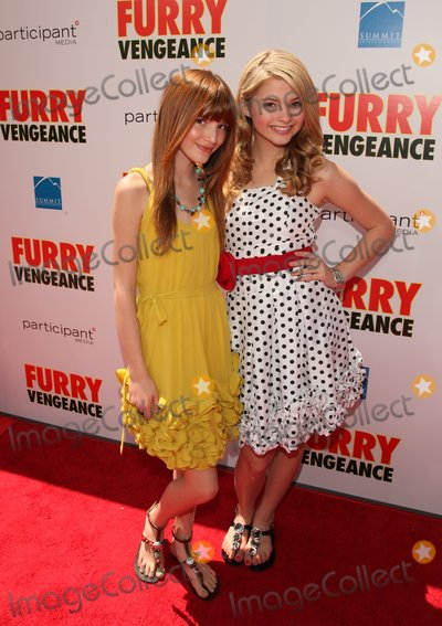 Bella Thorne Photo - Bella Thorne Stefani Scott Actors K64625alst Furry Vengeance Los Angeles Premiere Bruin Theatre Westwood CA 04-18-2010 Photo by Graham Whitby Boot-allstar-Globe Phtos Inc