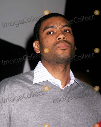 Allan Houston Photo - New York Knicks Christmas Carnival Featuring Fat Joe and Ja Rule at the Uss Intrepid New York City 12-23-2004 Photo by Rick MacklerrangefinderGlobe Photosinc Allan Houston