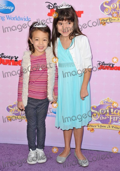 Aubrey Anderso-Emmons Photo - Aubrey Anderso-emmons Chloe Noelle attending the Los Angeles Premiere of Sofia the First Once Upon a Princess Held at the Walt Disney Studios in Burbank California on November 10 2012 Photo by D Long- Globe Photos Inc