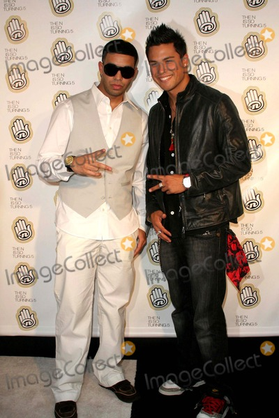 Aubrey Graham Photo - Celebrity Guests Join the Ns 5th Anniversary Celebration at Marquee Newyork City 06-18-2007 Aubrey Graham and Michael Copon Photo by John B Zissel- Globe Photos Inc