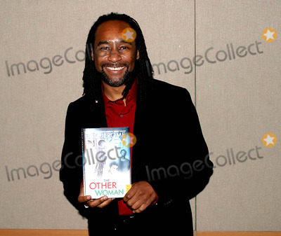 American Authors Photo - Eric Jerome Dickey - (african-american Author) Promotes New Title the Other Woman   Aol-time Warner Book Signing and Reading 51603 NYC Photo Byanthony G MooreGlobe Photos Inc 2003