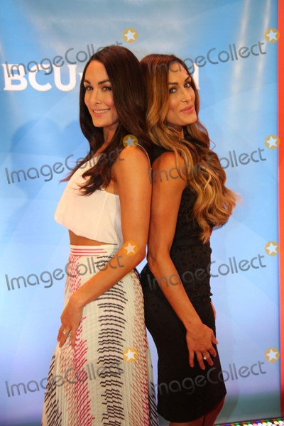 Brie Bella Photo - Brie Bella and Nikki Bella Attend Summer Press Day 2015 the Four Seasons Hotel NYC June 24 2015 Photos by Sonia Moskowitz Globe Photos Inc