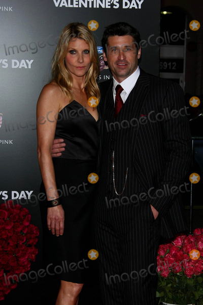 Jillian Dempsey Photo - Jillian Dempsey Patrick Dempsey Actor and Wife the Los Angeles World Premiere of Valentines Day Held at the Graumans Chinese Theatre in Hollywood CA 02-08-2010 Photo by Graham Whitby Boot-allstar-Globe Photos Inc 2010
