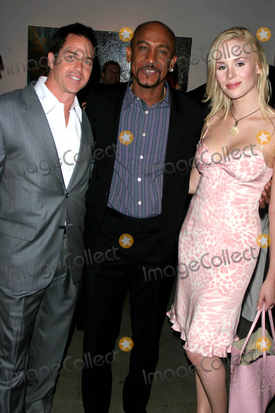 Ariane Sommer Photo - the Rites of Passage Paintings by Samantha Keely Smith an Exhibition to Benefit the Montel Williams MS Foundation at the Aca Galleries New York City 06-02-2005 Photo by John Barrett-Globe Photos 2005 Ariane Sommer Boyfriend Clay Kahler_montel Williams