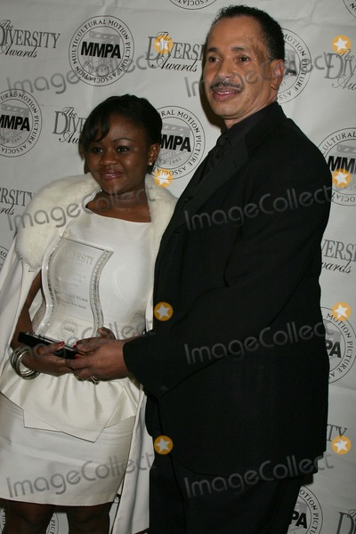 Jarvee Hutcherson Photo - 2009 Diversity Awards - Show  Pressroom Luxe Hotel Bel-air CA 112209 Hope Oliade Wilson and Jarvee Hutcherson - President of the Diversity Awards Photo Clinton H Wallace-photomundo-Globe Photos Inc