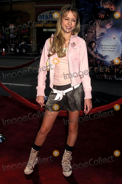 Brie Larson Photo - Peter Pan Premiere at Manns Chinese Theatre Hollywood CA 12132003 Photo Phil Roach Ipol Globe Photos Inc 2003 Brie Larson