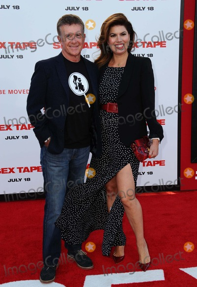 Alan Thicke Photo - Alan Thicke Wife attending the Los Angeles Premiere of Sex Tape Held at the Regency Village Theater in Westwood California on July 10 2014 Photo by D Long- Globe Photos Inc