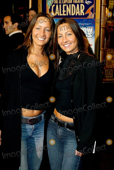 Nikki Collins Photo - the Count of Monte Cristo Premiere El Capitan Theatre Hollywood CA 01232002 Nikki an Dtina Collins Photo by Alec MichaelGlobe Photos Ing2002 (D)
