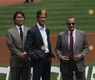 Hideki Matsui Photo - New York Yankees Retire Andy Pettitte Number46 on Sunday August 23rd 2015 Jose Posada Number 20 Was Also Retired on Saturday August 22nd 2015 Photo by William Regan- Globe Photos Inc