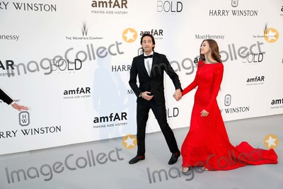 ADRIAN BRODY Photo - Lara Lieto Adrian Brody Amfars Cinema Against Aids Gala Cannes Film Festival 2015 Cannes France May 21 2015 Roger Harvey