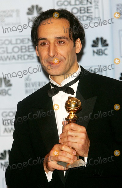 Alexandre Desplat Photo - Alexandre Desplat Posing in the Press Room of the Hollywood Foreign Press Associations Golden Globe Awards at the Hotel Beverly Hilton on January 17 2007 K51405am Photo by Alec Michael-Globe Photosinc
