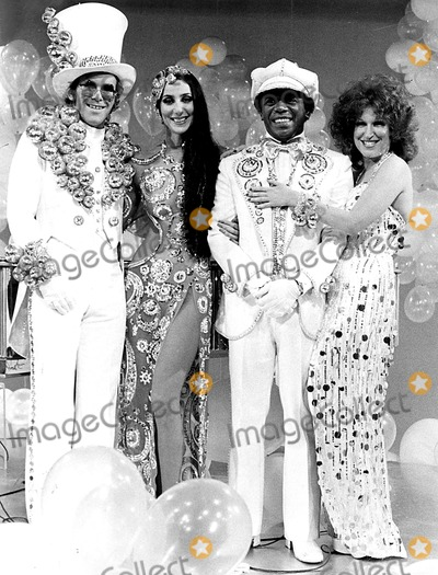 Flip Wilson Photo - Elton John Cher Flip Wilson and Bette Midler 1978 SmpGlobe Photos Inc