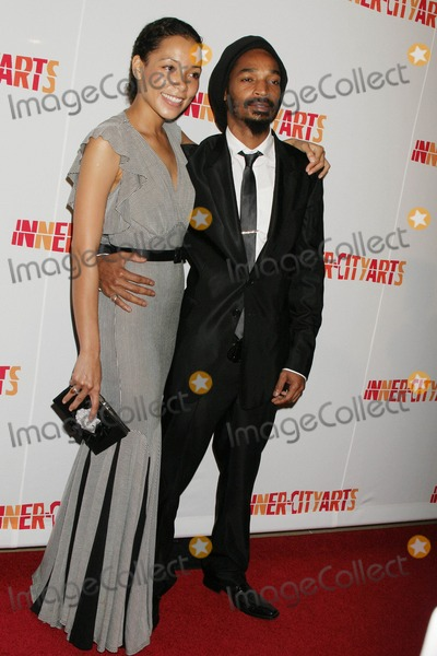 Eddie Steeples Photo - Inner-city Arts 2009 20th Anniversary Imagine Gala and Auction at Beverly Hilton Hotel in Beverly Hills California 10-15-2009 Eddie Steeples and Paola Menacho Photo Clinton H Wallace-photomundo-Globe Photos Inc