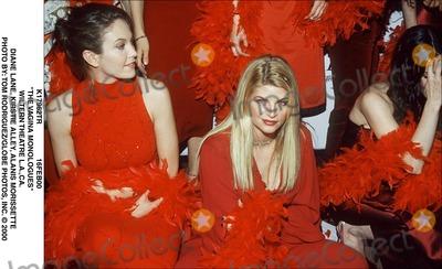 Alanis Morissette Photo - 16feb00 the Vagina Monologues Wiltern Theatre Laca Diane Lane Kirstie Alley Alanis Morissette Photo by Tom RodriguezGlobe Photos Inc