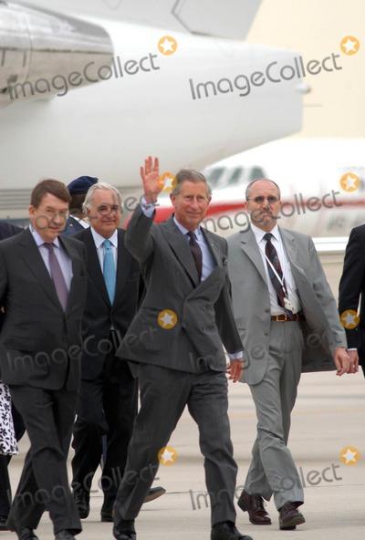 Queen Fabiola Photo - AlfaquiglobelinkukcomGlobe Photos 000799 05212004 Prince Charles Royal Wedding of Prince Felipe of Spain  Letizia Ortiz -Airport Arrivals -Barajas Airportmadrid