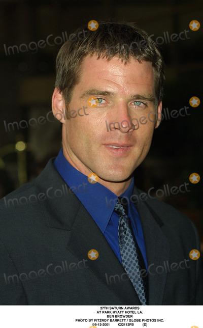 Ben Browder Photo - Saturn Awards at Park Hyatt Hotel LA Ben Browder Photo by Fitzroy Barrett  Globe Photos Inc 6-12-2001 K22112fb (D)