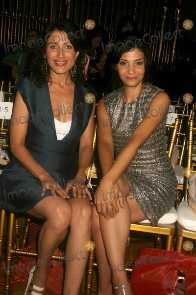 Callie Thorne Photo - Mercedes Benz Spring 2008 Fashion Week Gotham Hall Celebrities at Cynthia Rowley Show 09-07-2007 Photo by Rick Mackler-rangefinders-Globe Photos Inc2007 Lisa Edelstein and Callie Thorne