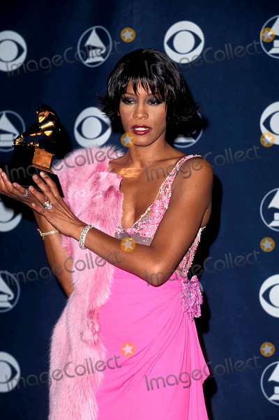 Jeff Vespa Photo - Sd0223 42nd Annual Grammy Awards at the Staple Center in CA Whitney Houston Photo Byjeff VespaipolGlobe Photos Inc