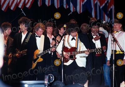 Little Richard Photo - the Rock and Roll Hall of Fame Mick Jaggar Bob Dylan  Little Richard Photo by John BarrettGlobe Photos Inc