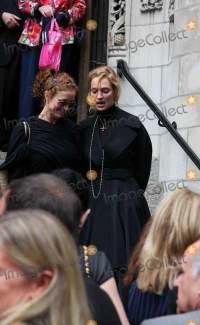 Dominick Dunne Photo - Funeral For Dominick Dunne at the Church of Saint Vincent Ferrer Newyork City 09-10-2009 Photo by William Regan- Globe Photos Inc 2009 Uma Thurman