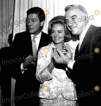 Donna Reed Photo - Dick Van Dyke Donna Reed and Lorne Greene at the Golden Apple Awards A789-2 Nate CutlerGlobe Photos Inc