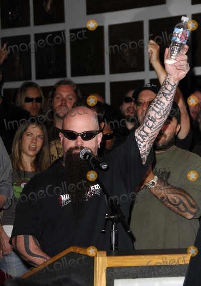 Dimebag Darrell Photo - Kerry King During the Posthumous Induction of Guitarist Dimebag Darrell Abbott Into Hollywoods Rockwalk on May 17 2007 in Los Angeles Photo by Michael Germana-Globe Photosinc