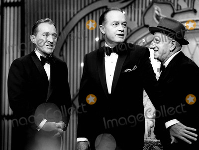 Jimmy Durante Photo - Bing Crosby Bob Hope and Jimmy Durante Supplied by Globe Photos Inc Bobhoperetro Bobhopeobit