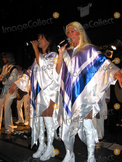 ABBA Photo - a Celebration of the Music of Abba Featuring Katja Nord and Camilla Dahlin(2 Original Members)and the Stockholm Symphonia Perform at Bb Kings Blues Club and Grill NYC Photo by John KrondesGlobe Photos Inc