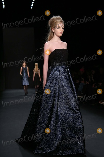 Badgley-Mischka Photo - Badgley Mischka Fall 2015 Fashion Show- Mercedes Benz Fashion Week Lincoln Center NYC February 17 2015 Photos by Sonia Moskowitz Globe Photos Inc