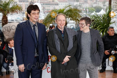 Arnaud Desplechin Photo - Benicio Del Toro Arnaud Desplechin Mathieu Amalric Jimmy P (Psychotherapy of a Plains Indian) Photocall 66th Cannes Film Festival Cannes France May 18 2013 Roger Harvey