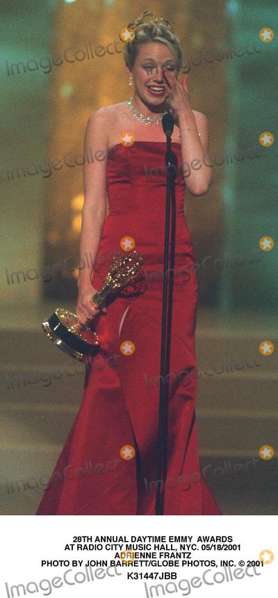Adrienne Frantz Photo - 28th Annual Daytime Emmy Awards at Radio City Music Hall NYC 05182001 Adrienne Frantz Photo by John BarrettGlobe Photos Inc