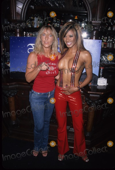 Traci Bingham Photo - Tina Marie Stoker with Traci Bingham at Fire Flies Fashion Show  the Sunset Room Los Angeles 2001 K22531mr Photo by Milan Ryba-Globe Photos Inc