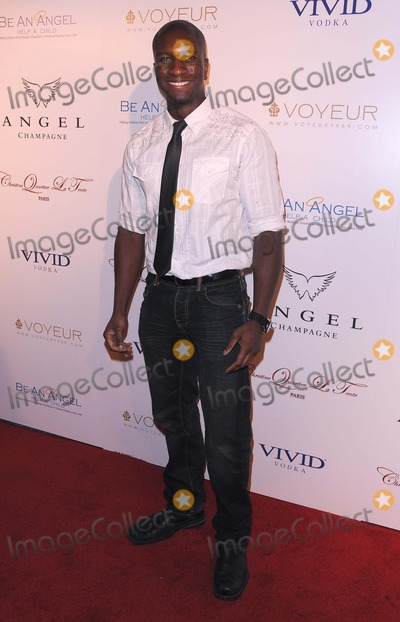 Adetokumboh MCormack Photo - Angel Champagne Hosts City of Angels Benefit For Be an Angel Charity at Voyeur in Hollywood CA 81811 Photo by Scott Kirkland-Globe Photos   2011 Adetokumboh Mcormack