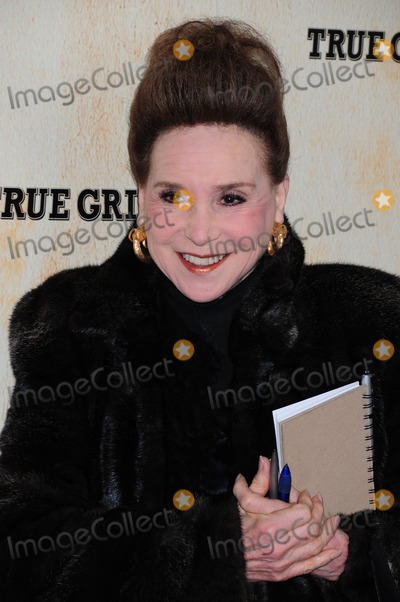 Cindy Adams Photo - Cindy Adams NY Premiere of True Grit at Ziefeld Theatre NYC 12-14-2010 Photo by Ken Babolcsay - Ipol -Globe Photos Inc 2010