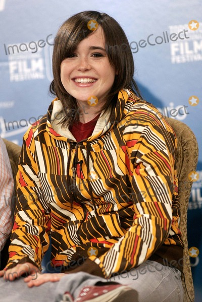 Ellen Page Photo - Actress Ellen Page at the Press Conference of the Film Juno at the Toronto International Film Festival in Toronto Canada at Hotel Sutton Place on September 8th 2007 Photo by Alec Michael-Globe Photosinc