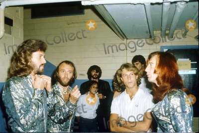 Andy Gibb Photo - Bee Gees Brothers Maurice Robin and Barry Gibb Andy Gibb Photo by Bob ShermanGlobe Photos Inc 1979 Mauricegibbretro